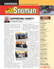 SNOMAN NEWSLETTER Winter 2014_15 Cover