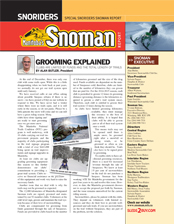 SNOMAN NEWSLETTER Mid Winter 2015 Cover
