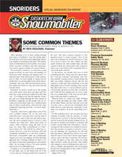 SSA NEWSLETTER Winter 2014_15 Cover