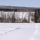 Benito offers amazing rolling hills to sled and play in.
