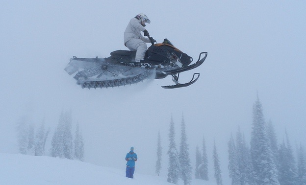 High Level rider Brett Smyl.