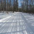 The Lintlaw area and Greenwater Lake Provincial Park provide great bush riding and incredible scenery.