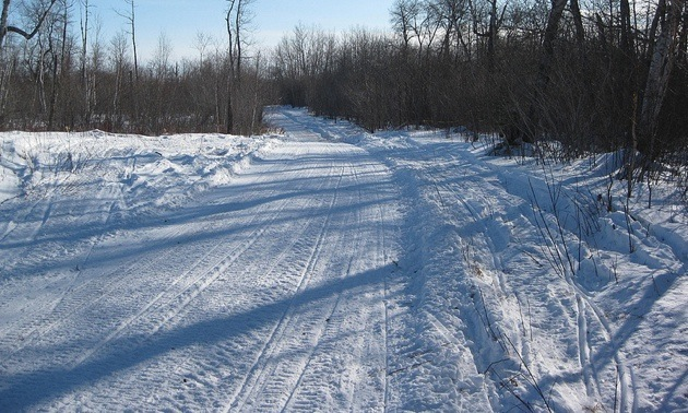 Qu'Appelle Valley in Saskatchewan.