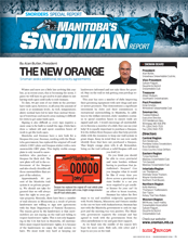 SNOMAN NEWSLETTER Mid Winter 2016 Cover