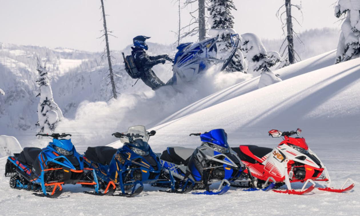 New 2022 Yahama snowmobiles