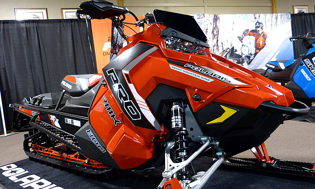 The New 2016 Rmk Snowmobile From Polaris