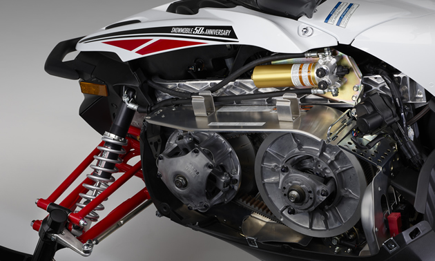 Inside look at the Yamaha Reactive Suspension System.