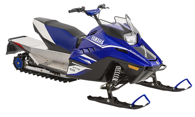 Yamaha's 2018 SnoScoot for youth.