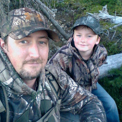 Brandon Scott, pictured here with his son Brayden, knew an adventure of a lifetime awaited his arrival in Chile.