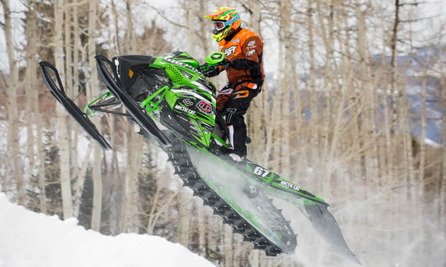 Ryan Simons competing at X Games in hillcross.