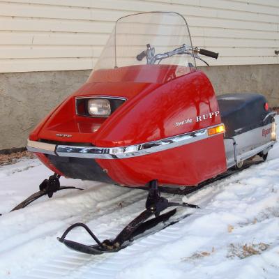 Restored 1973 Rupp Sport.