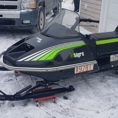 Brad Douglas submitted this photo of his 1978 Arctic Cat El Tigre 5000.