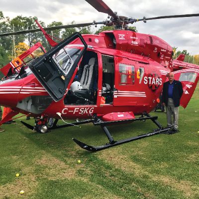 """On September 12, Alan Butler participated in the """"STARS Rescue on the Island."""