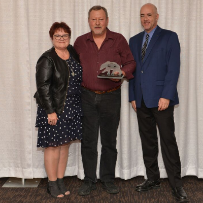 Dale Davis is the Alberta Snowmobile Association's Excellence Award-winner for Outstanding Snowmobiler of the Year.