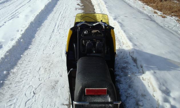 1972 Ski-Doo TNT 400 F/A.
