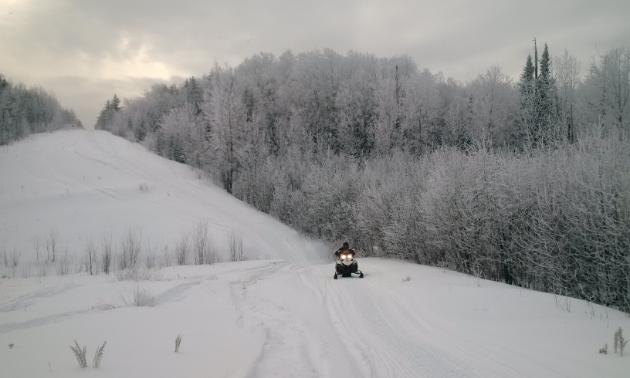 Smeaton, Saskatchewan, is a winter wonderland.