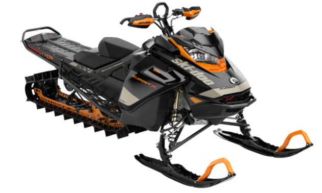 Summit X with Expert Package. The Summit X with Expert Package is outfitted with rider-influenced attributes and built with input from Ski-Doo Backcountry Experts and other real-world riders. The unique Expert package features let you go where the snow is deeper, the lines are more technical and the adventure is wilder.