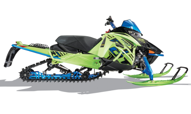 RIOT. Riot and Riot X Crossover sleds have 50/50 performance that blends the DNA of the legendary Mountain Cats and ZR trail machines. Both Riot and Riot X deliver crossover versatility with available ARS II front suspension and CROSS-ACTION rear suspension. For deeper and steeper riding, Riot X is built to handle mountain riding.