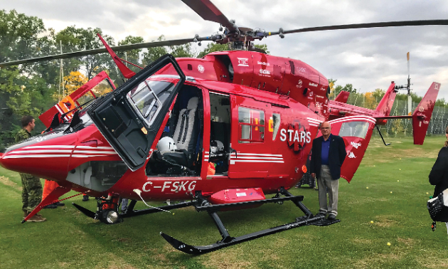 "On September 12, Alan Butler participated in the ""STARS Rescue on the Island."