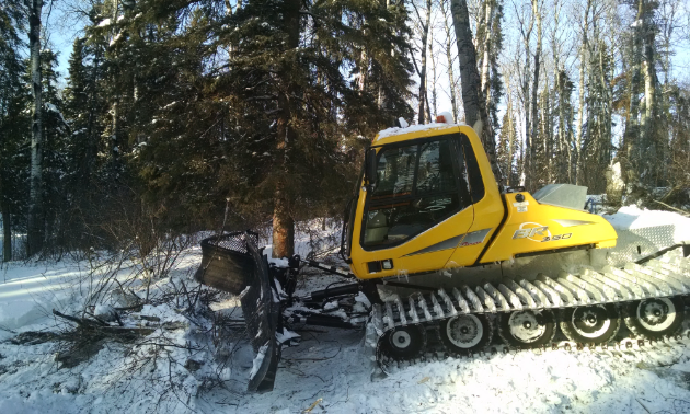 Many clubs have are clearing trails, cutting grass, building shelters, servicing equipment and installing trail signs