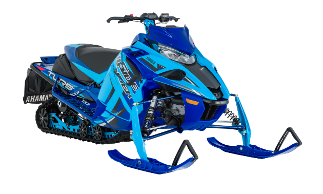 LE series. LE models are the highest specification snowmobiles Yamaha makes. Depending on the model, LEs come with different track specifications, top-of-the-line suspension upgrades, increased storage options and lightweight brake discs to ensure the most premium Yamaha snowmobiles available. The Sidewinder L-TX LE is available in Jet Stream Blue.