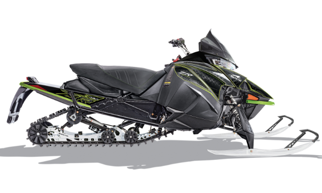 The ZR TRAIL snowmobile of Arctic Cat's 2020 lineup of snowmobiles.