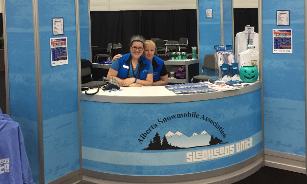 """A huge thank you to our gracious hosts, the Alberta Snowmobile Association, as well as the staff at the Edmonton Expo Centre,"" said Jason Woods. ""They worked very hard to put on an incredible show!"""