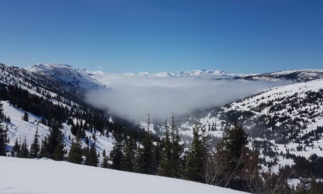 Tumbler Ridge, B.C., is a beautiful place to ride.