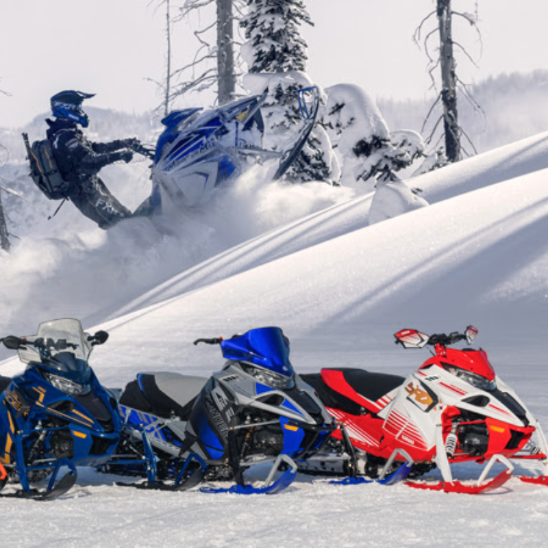 New 2022 Yahama snowmobiles