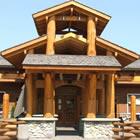 Photo of log hotel