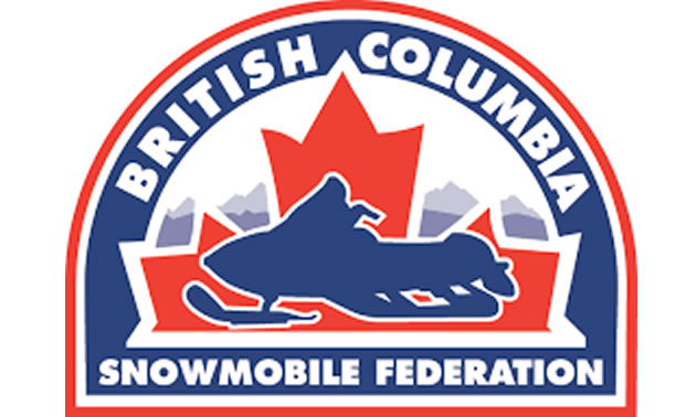Logo for the British Columbia Snowmobile Federation.