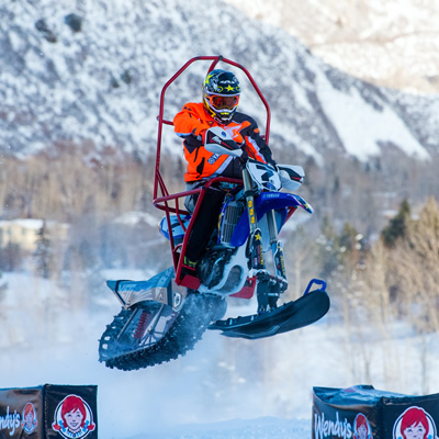 Blair Morgan at 2019 XGames in Colorado.