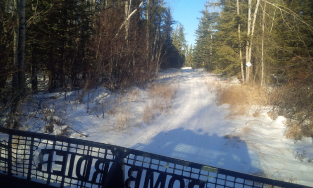 The Lakeland Snowmobile Club maintains the trails throughout Waskesiu.