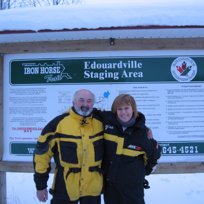 """""""People having a more and more pleasurable experience makes snowmobiling sustainable."""""""