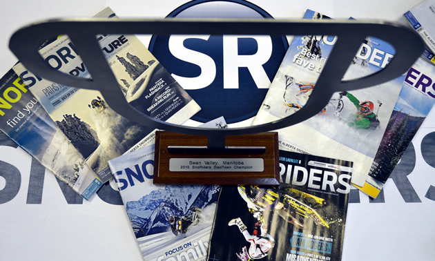 SledTown ShowDown trophy