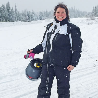Debbie Westman is the North West Alberta Regional Director for the Alberta Snowmobile Association.