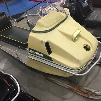 An Eskimo snowmobile.