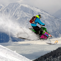 Everything a snowmobiler needs to know about snowmobiling Golden, B.C., including trail maps, local snowmobile events and more.