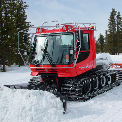 Snowmobile grooming machines can now be tracked on the trails by AtlasTrax, using Globalstar satellite technology.
