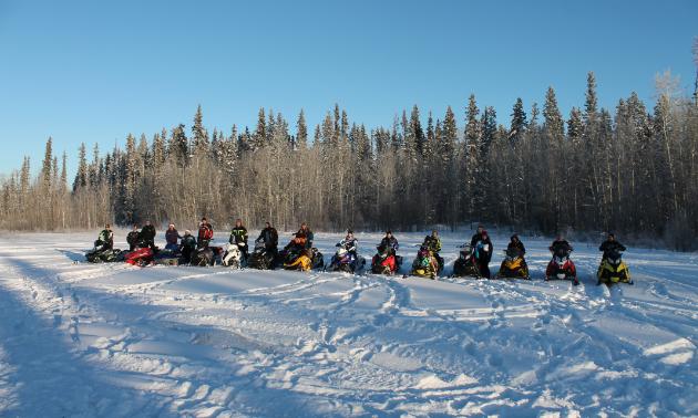 The Watt Mountain Wanderers represent High Level, Alberta.