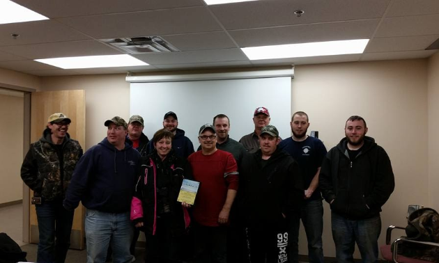The Watt Mountain Wanderers received an award for their role in the Santa Claus Parade 2015.