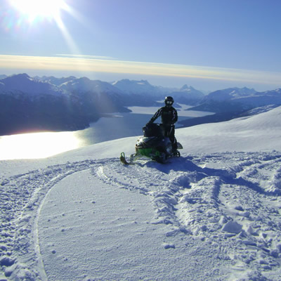 Ashley Roney Exploring Sibolas and Rhine Ridge near Houston, B.C.