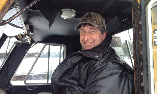 Mike Adey is an inaugural member of the Whiteshell Snowmobile Club and has a passion for sledding with his family.