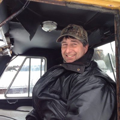 Mike Adey has been sledding in the Whiteshell since the 1960s and loves the area's diverse terrain.