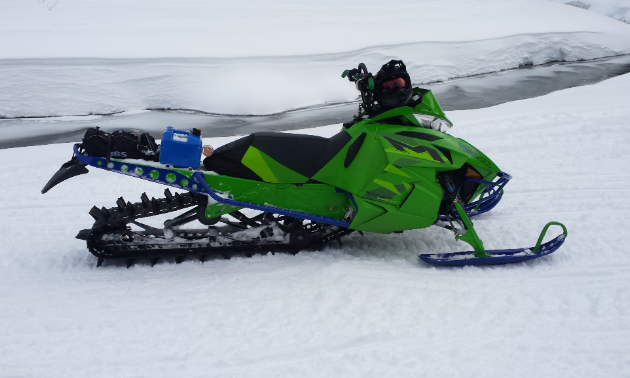Grande Prairie locals often ask Schlief to build or help build specialty sleds.