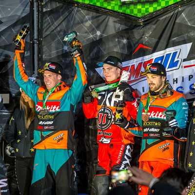Round 4 Saturday Podium