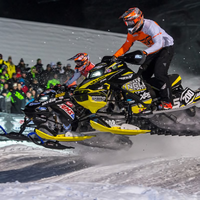 BRP's Ski-Doo riders dominate at recent SnoCross events