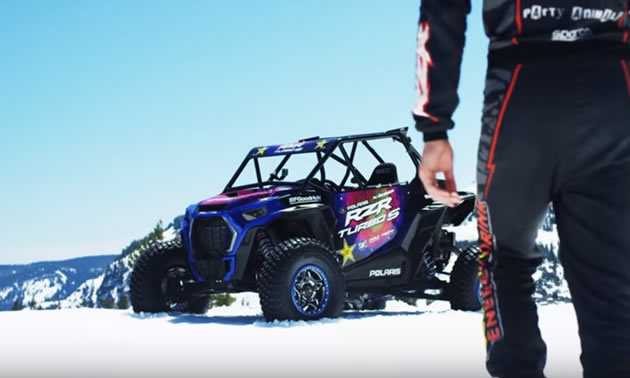 The RZR® XP Turbo S side-by-side.