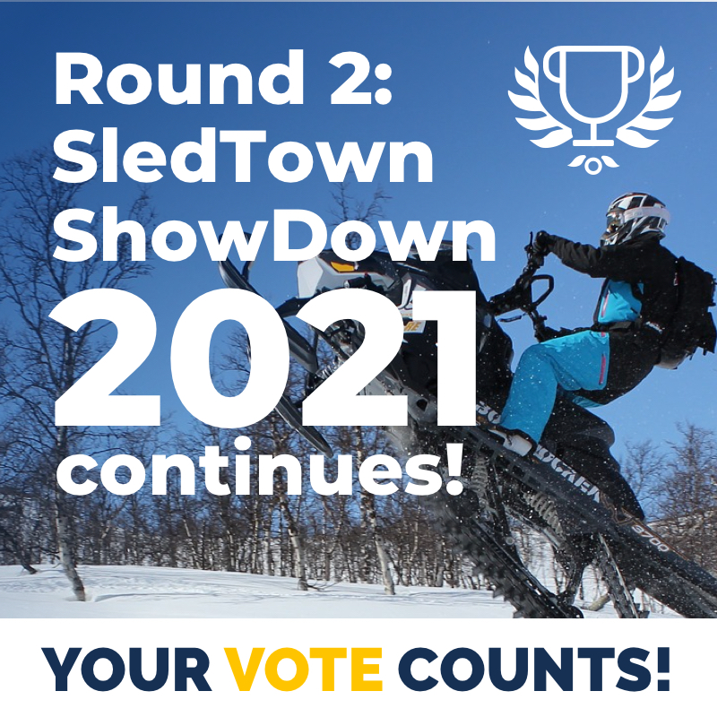 Round 2: SledTown ShowDown 2021 continues!