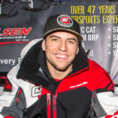 Ryan Springer with Boss Racing will be part of this year's Ski-Doo X-Team.